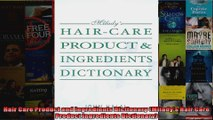 Hair Care Product and Ingredients Dictionary Miladys Hair Care Product Ingredients