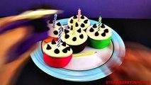 Happy Birthday Superman! Play Doh Shopkins Cars 2 Spongebob Snow White Surprise Eggs StrawberryJamTo