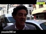 Yves Cochet, de la rue Daguerre vers celle de l'Université