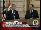 George Bush Shoe Incident in Iraq