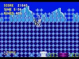 Sonic 3 & Knuckles Icecap act 2 (Sonic) 662 Rings