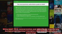 Wiley GAAP 2015 Interpretation and Application of Generally Accepted Accounting