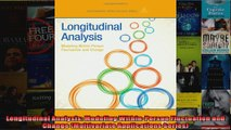 Longitudinal Analysis Modeling WithinPerson Fluctuation and Change Multivariate