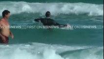 Hugh Jackman sauve son fils de la noyade sur une plage à Sydney dans les vagues