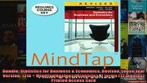 Bundle Statistics for Business  Economics Revised Looseleaf Version 12th  MindTap