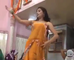 desi girl dancing a home  new best saraiki folk punjabi indian pakistani dubai arab dance mujra