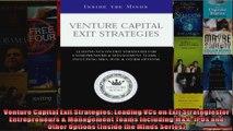 Venture Capital Exit Strategies Leading VCs on Exit Strategiesfor Entrepreneurs