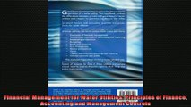 FULL PDF  Financial Management for Water Utilities Principles of Finance Accounting and Management