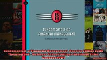 Fundamentals of Financial Management Concise Edition with Thomson ONE  Business School