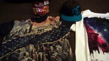 had fun shopping today found a couple new shirts and another DC hat had fun with mom and dad