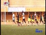 Première séance d'entraînement des Lions du Sénégal au Niger