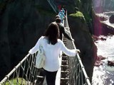 Carrick-a-Rede rope bridge. August 2012.