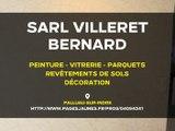 Peinture, vitrerie, parquets et revêtements de sols à Palluau-sur-Indre. SARL Bernard Villeret.