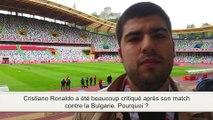 Portugal-Belgique : Ronaldo critiqué après son match contre la Bulgarie