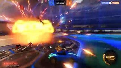 Rocket League - no save :( but goal :) | Wykorzystuje technologię GeForce GTX (FULL HD)