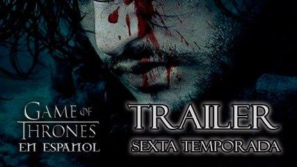 Nuevo Trailer sexta temporada Game of Thrones