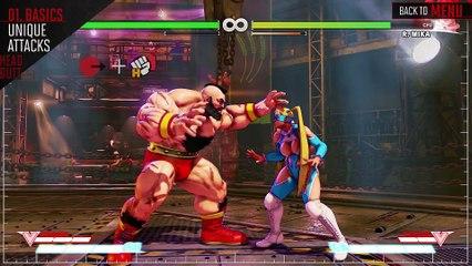 SFV - Guide Officiel de Zangief de Street Fighter V