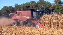 Case IH 9230 Axial-Flow Combine on Tracks