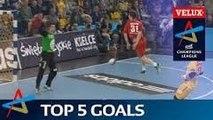 Top 5 Goals featuring Eggert and Razgor | Last 16 - Leg 2 | VELUX EHF Champions League
