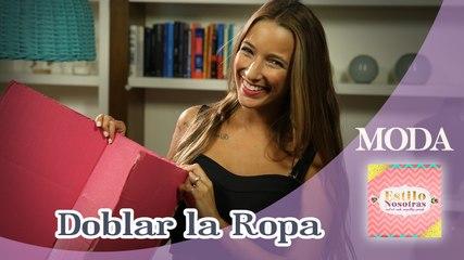 Como doblar la ropa by Ornella Griffa | Estilo Nosotras