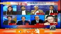 Hot Debate Between Imtiaz Alam And Iftikhar Ahmed..