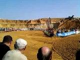 depart de la 1ere manche inter motocross mont saint guibert 25/09/11