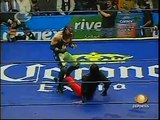 AAA-SinLimite 2009-02-09 Tlaxcala 04 Silver King, La Parka & X-Pac vs. El Zorro, Nicho el Millonario & Joe L?der