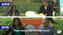 These Are The Obamas' Best Moments From The White House Easter Egg Rolls