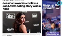 Jessica Lowndes Fesses Up to Creating Jon Lovitz Dating Rumor