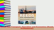 PDF] Reeds Sea Transport: Operations and Economics (Reeds