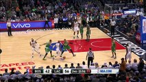 Paul Pierce Leg Injury   Celtics vs Clippers   March 28, 2016   NBA 2015-16 Season