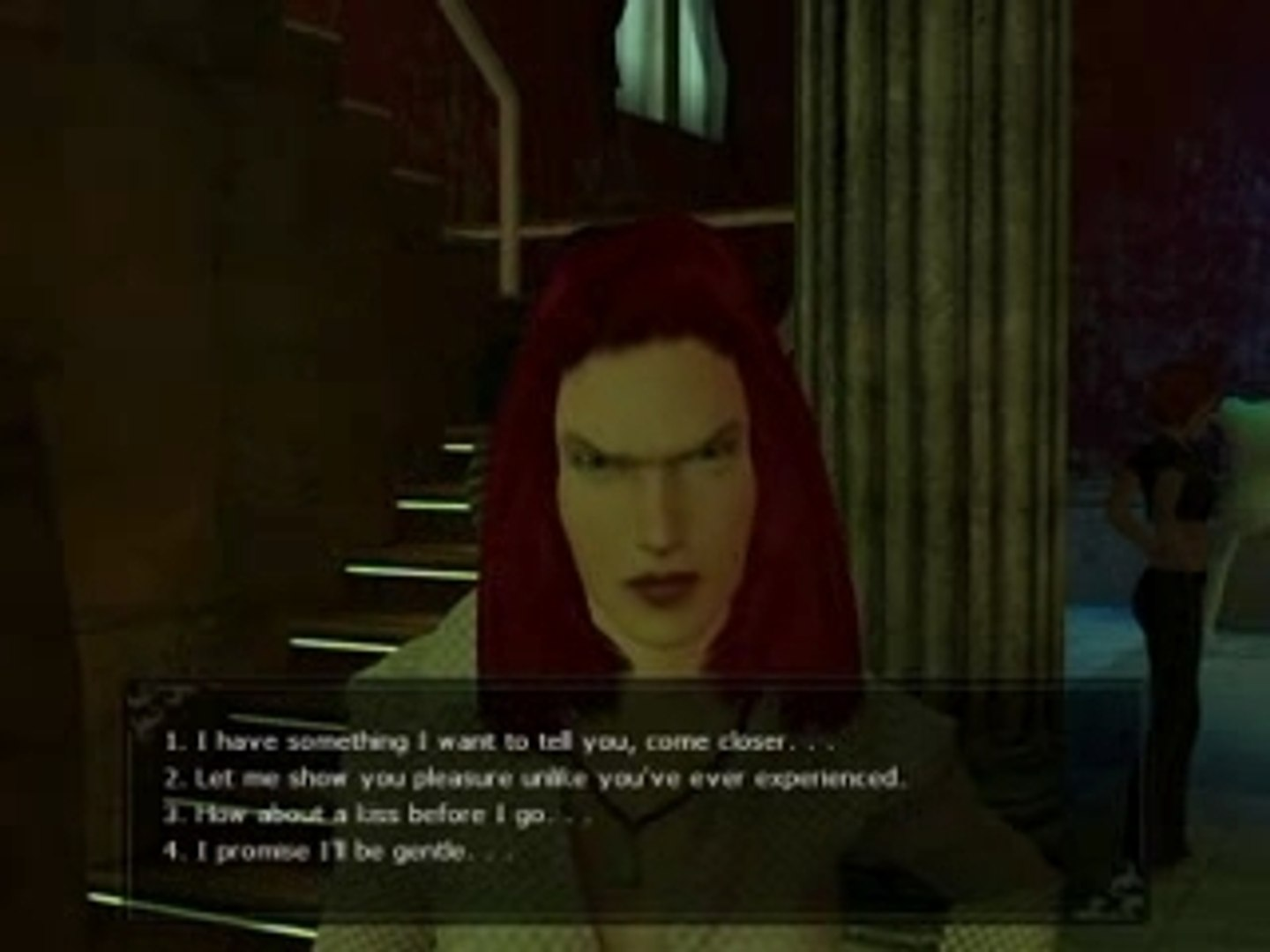 Vampire: The Masquerade - Bloodlines Jeanette Intro