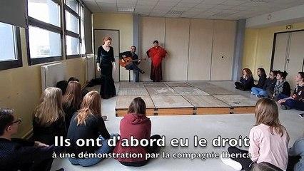 Ham : Les collégiens découvrent le flamenco