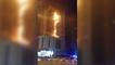 Spectaculaire incendie près de Dubaï