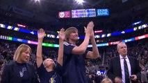 Le Utah Jazz célèbre la carrière d'Andrei Kirilenko