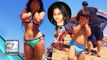 Shahrukh's Daughter Suhana HOT In BIKINI With AbRam