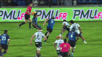 Résumé Agen - Montpellier : 21-45