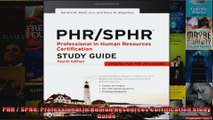 Popular] Books PHR / SPHR: Professional in Human Resources