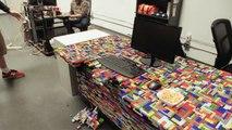 Il transforme tout ce qu'il touche en LEGO