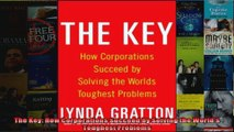 The Key How Corporations Succeed by Solving the Worlds Toughest Problems