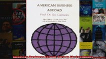 American Business Abroad Ford on Six Continents