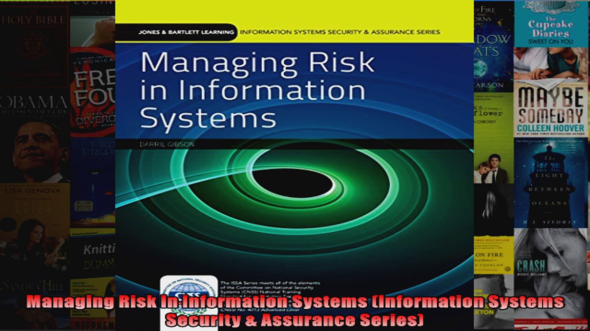 Managing Risk In Information Systems Information Systems Security  Assurance Series