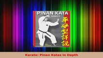 PDF  Karate Pinan Katas in Depth PDF Online