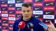 FCB Handbol: Declaracions Xavi Pascual, prèvia Ciudad Encantada- FC Barcelona Lassa