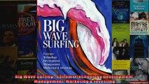 Big Wave Surfing  Extreme Technology Development Management Marketing  Investing