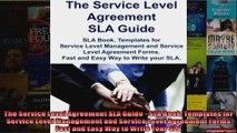 The Service Level Agreement SLA Guide  SLA Book Templates for Service Level Management