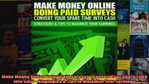 Make Money Online Doing Paid Surveys  Convert Your Spare Time Into Cash  Strategies