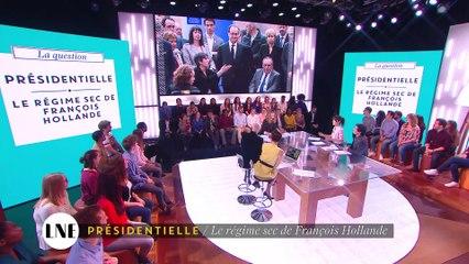 Présidentielle : Le régime sec de François Hollande - La Nouvelle Edition - 29/03/16 - CANAL +