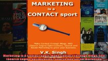 Marketing Is A Contact Sport Make Contact Through Blogs Seo Search Engine Optimization