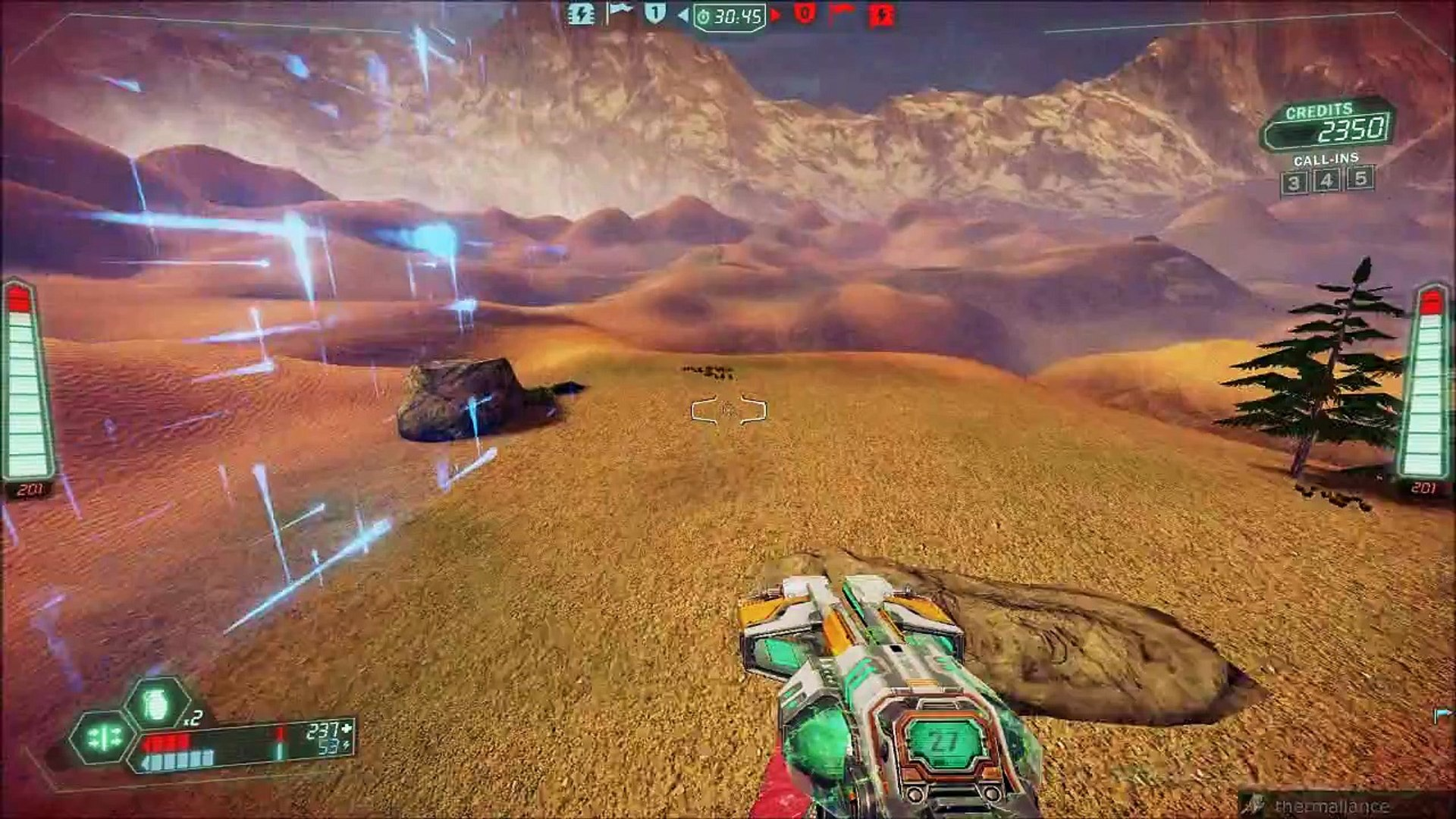 Tribes Ascend Routes: Canyon Crusade Revival Back to front (Blood Eagle)